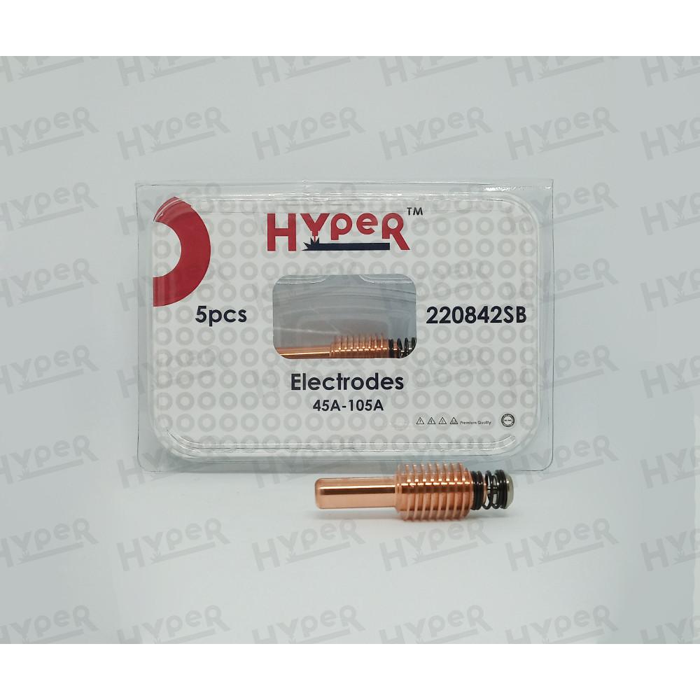 220842SB Электрод  (серебро) 45A-105A