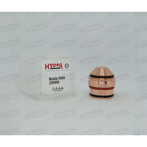 220406 Сопло (для нержав. стали) 260A