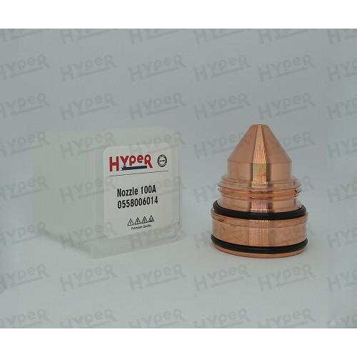 0558006014 Сопло 1,4 мм, 100A