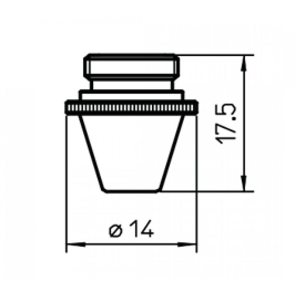 Сопло L3077  – 1.2 мм