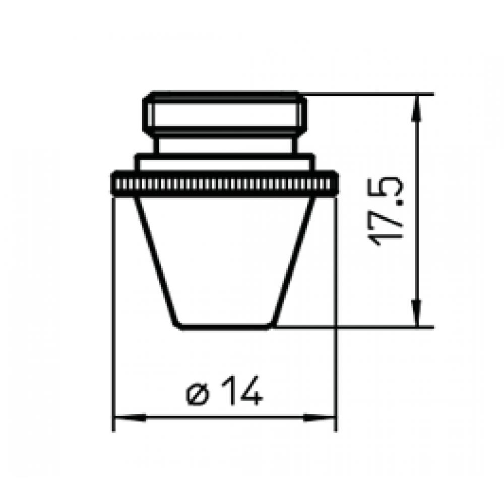 Сопло L124  – 2.3 мм (шестигр.)