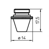 Сопло L3078  – 0.8 мм (шестигр.)