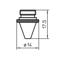 Сопло L30252  – 1.5 мм (шестигр.)