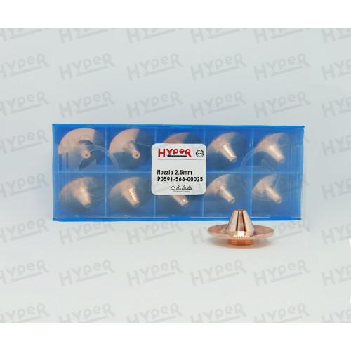 Сопло сомбреро - 2.5 мм / P0591-566-00025